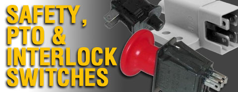 Universal - Safety, Interlock, PTO Switches - Seat Switches
