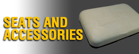 Club Car - Seats and Accessories - Seat Bottom/Back Assemblies