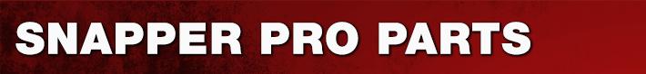 Snapper Pro Parts