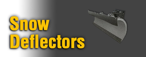 Diamond - Snow Deflectors - Thermoplastic Snow Deflectors