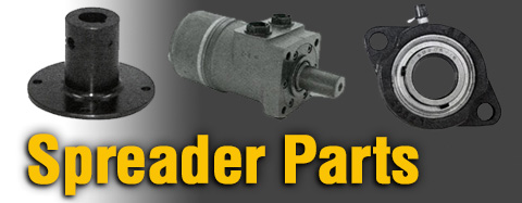 Universal Spreader Spinner Parts