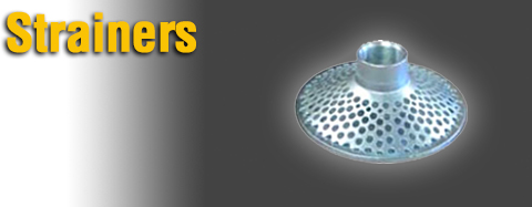 Universal - Strainers - Plastic Strainers