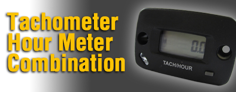 Simplicity Tachometer Hour Meter Combination Parts
