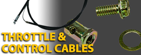 String Trimmer Throttle Control Cables