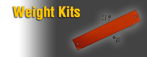 Toro Weight Kit Parts