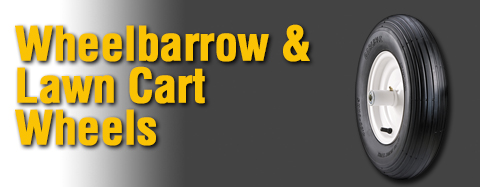 Universal - Wheels - Wheelbarrow and Lawn Cart Wheels