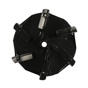 """02437651 14"""" Black Fan"""