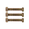 Shear Bolt & Nut - 3 Pack